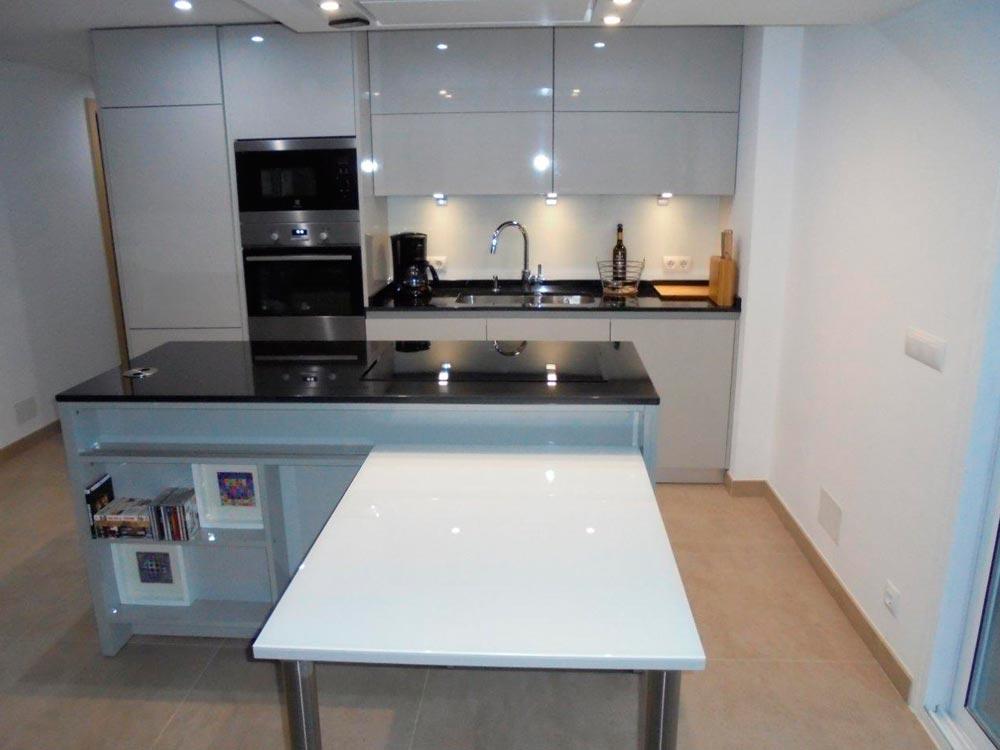 Proyecto cocina 1 - Diseño e instalación de cocinas - Idecocina
