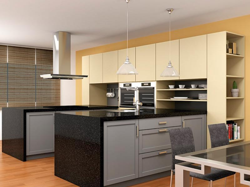Cocina americana - Diseño e instalación de cocinas - Idecocina